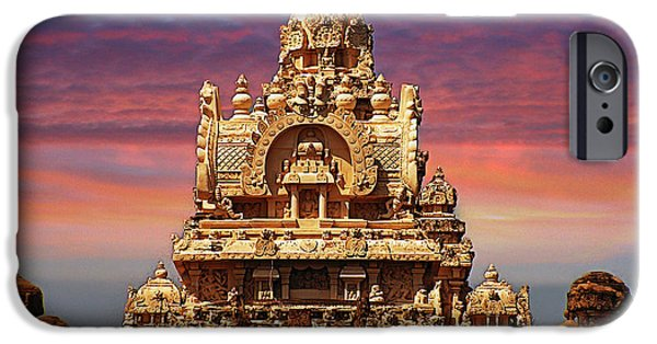 Sand Castles iPhone Cases - India 11 iPhone Case by Ben Yassa