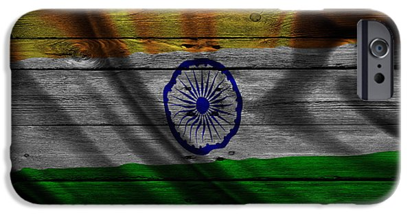 India iPhone Cases - India iPhone Case by Joe Hamilton