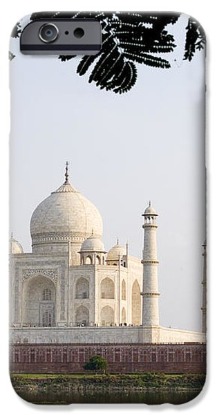 India, Temple Burial Site Seen iPhone Case by Bill Bachmann