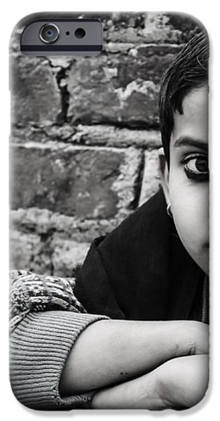 Indian Child iPhone Case by Vicasso Destiny