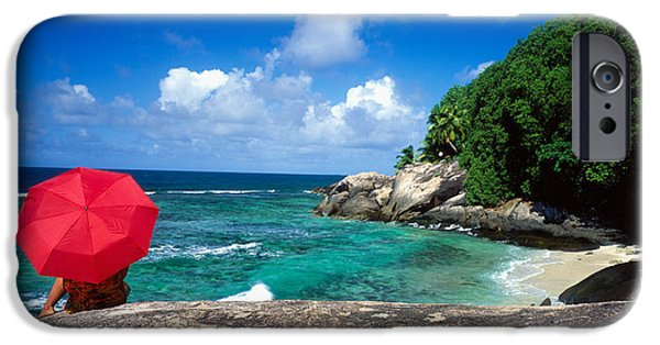 Private Island iPhone Cases - Indian Ocean Moyenne Island Seychelles iPhone Case by Panoramic Images