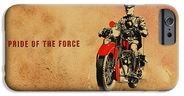 Police iPhone Cases - Indian Pride of the Force iPhone Case by Mark Rogan