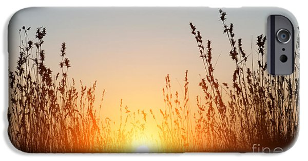 Setting Sun iPhone Cases - Indian Sunset iPhone Case by Tim Gainey