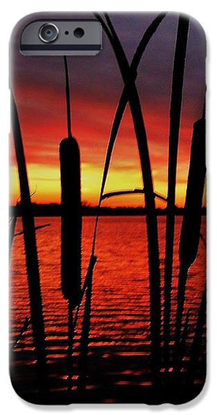 Indiana Sunset iPhone Case by Benjamin Yeager