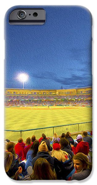 Indianapolis Indians iPhone Case by David Haskett