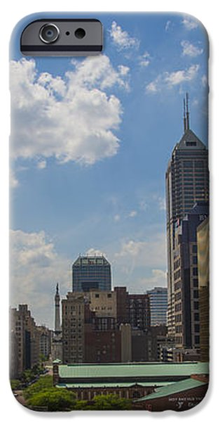 Indianapolis Skyline June 2013 iPhone Case by David Haskett