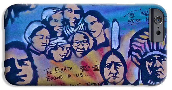 American Conservative Party iPhone Cases - Indigenous Respect iPhone Case by Tony B Conscious