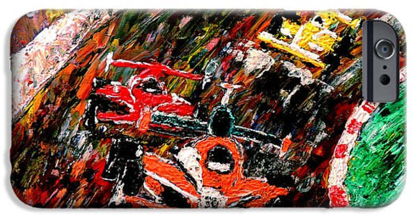 Marco Andretti iPhone Cases - Indy 500  iPhone Case by Mark Moore