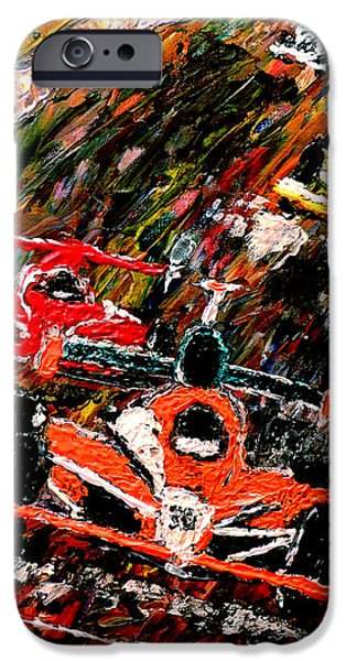 Indy 500  iPhone Case by Mark Moore