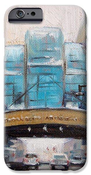 Indy Arts Garden Winter iPhone Case by Donna Shortt