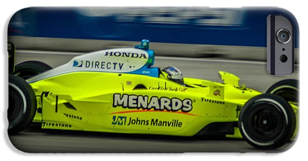 Indy Car iPhone Cases - Indy Car 20 iPhone Case by Ronald Grogan