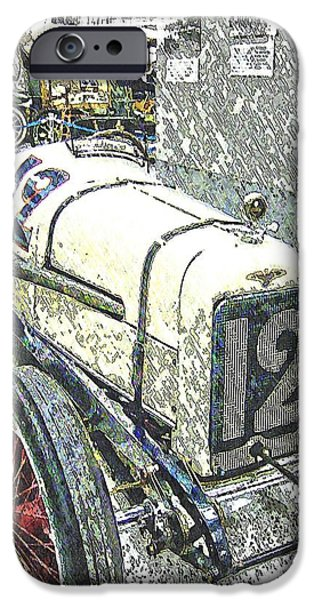 Indy Car iPhone Cases - Indy Race Car 2 iPhone Case by Spencer McKain