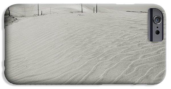 Sand Patterns iPhone Cases - Inevitable iPhone Case by Laurie Search