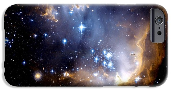Jet Star iPhone Cases - Infant Stars iPhone Case by Amanda Struz