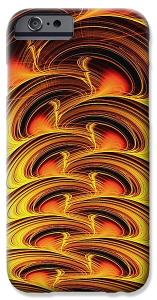 Best Sellers -  - Power iPhone Cases - Inferno iPhone Case by Anastasiya Malakhova