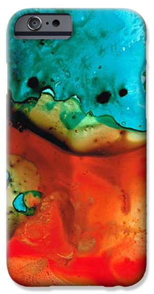 Infinite Color - Abstract Art By Sharon Cummings iPhone Case by Sharon Cummings