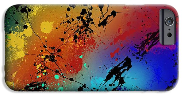 Paint iPhone Cases - Infinite M iPhone Case by Ryan Burton