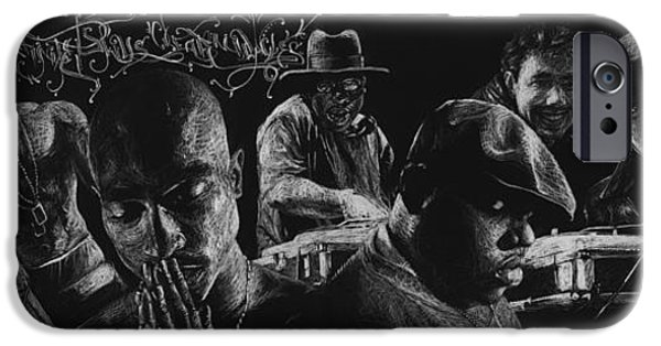 Dirty Drawings iPhone Cases - Infinite Skills Create Miracles iPhone Case by David Soler Hickman