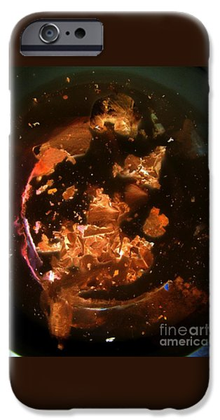 Outer Space Paintings iPhone Cases - Infinity iPhone Case by Nancy Kane Chapman