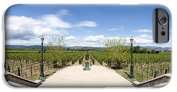 Francis Ford Coppola iPhone Cases - Inglenook Vineyards iPhone Case by Dariusz Janczewski