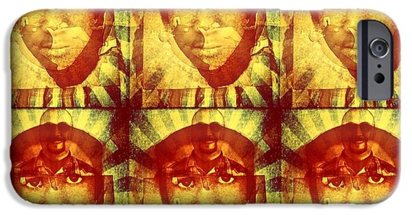 Racism Mixed Media iPhone Cases - Injustice for Trayvon iPhone Case by Michelle Dallocchio