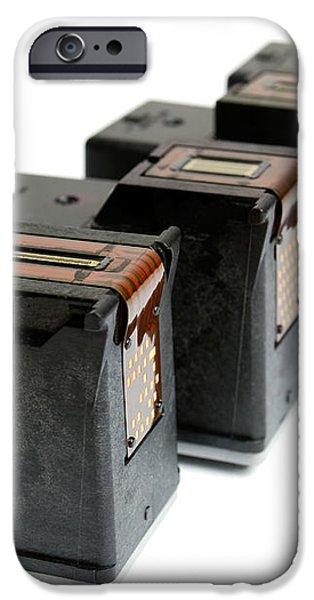 Ink cartridges iPhone Case by Sinisa Botas