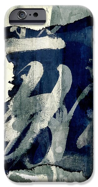 Hand-watercolored iPhone Cases - Inked Painted and Torn iPhone Case by Carol Leigh