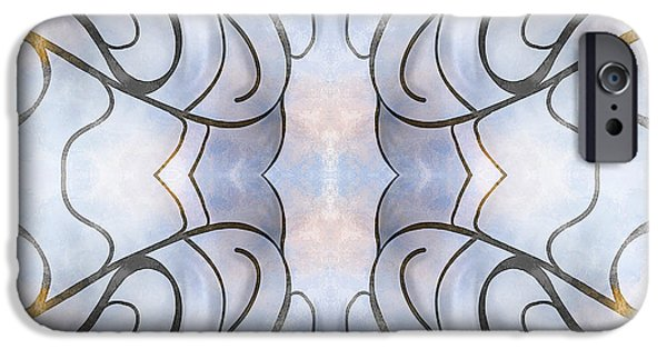 Symetry iPhone Cases - Inked iPhone Case by Thomas OGrady
