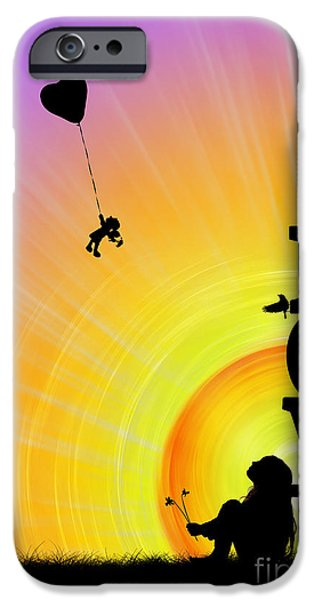 Daydream iPhone Cases - Inner Child iPhone Case by Tim Gainey