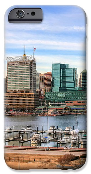 Inner Harbor iPhone Case by JC Findley