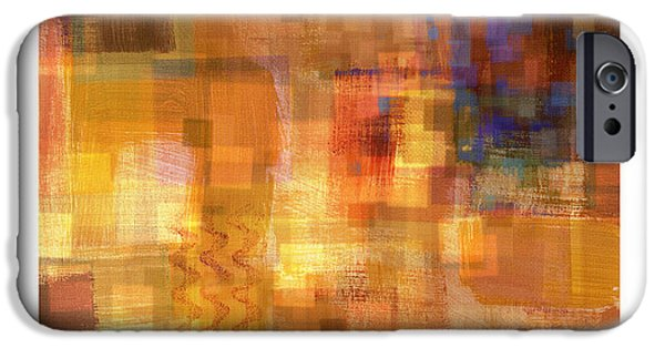 Abstract Digital Paintings iPhone Cases - Inner Sanctum 3 iPhone Case by Craig Tinder