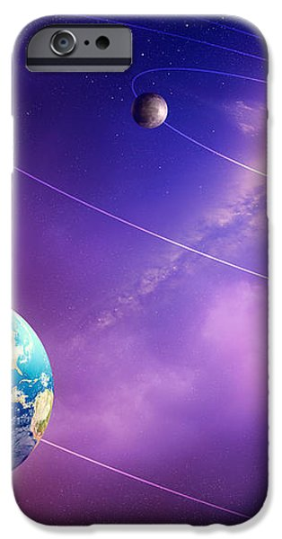 Inner solar system planets iPhone Case by Johan Swanepoel
