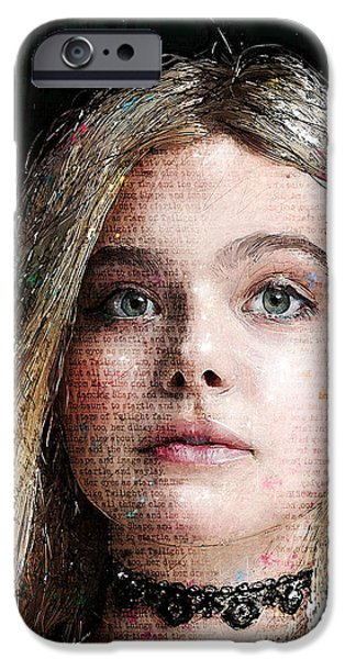 Beautiful Faces iPhone Cases - Innocence iPhone Case by Gary Bodnar