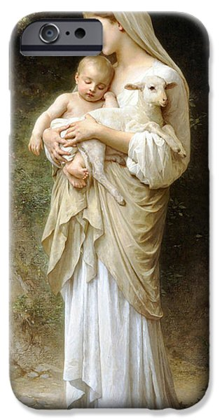 Best Sellers -  - Innocence iPhone Cases - Innocence iPhone Case by William Bouguereau