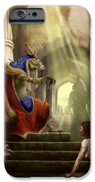 Dungeons iPhone Cases - Inquisition iPhone Case by Matt Kedzierski