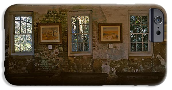 Slaves Photographs iPhone Cases - Inside View Of Slave Quarter, Middleton iPhone Case by Panoramic Images