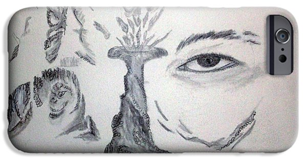 Angela Pelfrey iPhone Cases - Insight iPhone Case by Angela Pelfrey