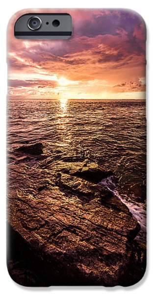 Gulf Of Mexico iPhone Cases - Inspiration Key iPhone Case by Chad Dutson