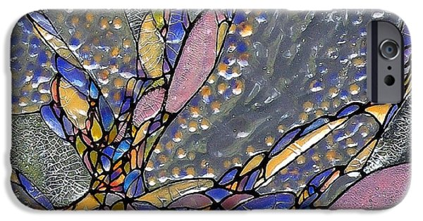 Vivid Glass iPhone Cases - Inspired By Peggys Cove iPhone Case by Teresa Young