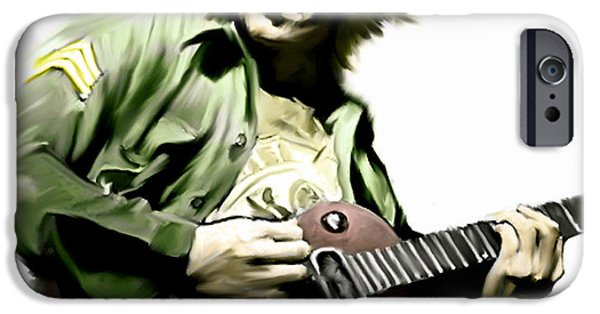 Music Drawings iPhone Cases - Instant Karma  John Lennon iPhone Case by Iconic Images Art Gallery David Pucciarelli