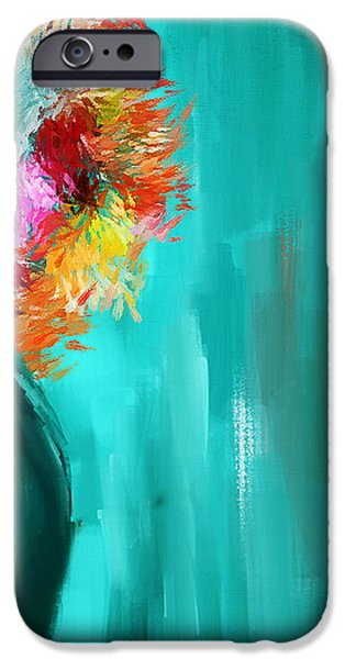 Intense Eloquence iPhone Case by Lourry Legarde