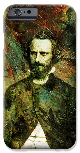 Intense iPhone Cases - Intense Fellow 1 iPhone Case by James W Johnson