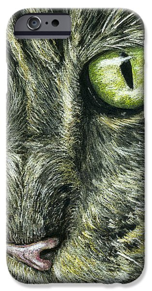 Intense iPhone Case by Michelle Wrighton