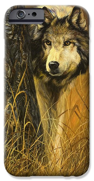 Fall iPhone Cases - Interested iPhone Case by Lucie Bilodeau