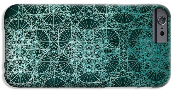 Relativity iPhone Cases - Interference iPhone Case by Jason Padgett
