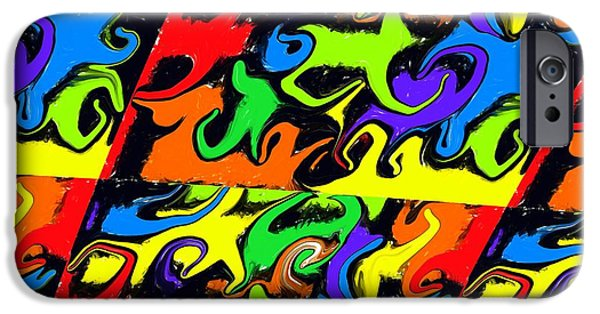 Intergalactic Space iPhone Cases - Intergalactic iPhone Case by Chris Butler
