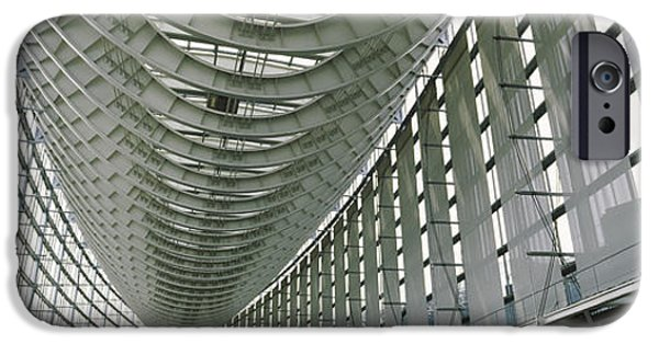 Absence iPhone Cases - Interiors Of A Forum, Tokyo iPhone Case by Panoramic Images