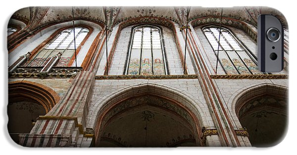Marys iPhone Cases - Interiors Of A Gothic Church, St. Marys iPhone Case by Panoramic Images