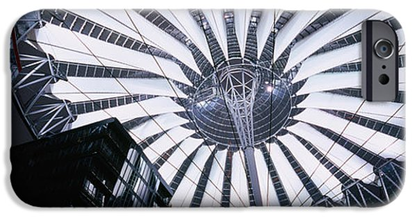 Interior Scene iPhone Cases - Interiors Of A Shopping Mall, Sony iPhone Case by Panoramic Images