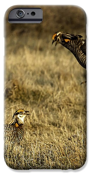 Intimidating Jump iPhone Case by Thomas Young